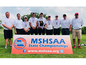 Golf takes 2nd at State!