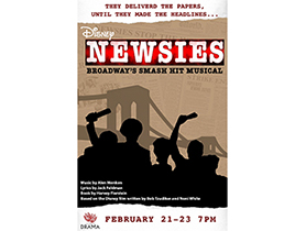NEWSIES AUDITION INFORMATION