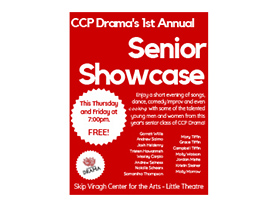 DRAMA SENIOR SHOWCASE